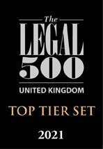 Ropewalk Chambers Top Tier Set Legal 500 2021